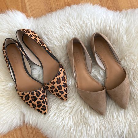 These flats run true to size. Does the leopard pair have too much cheesy orange color? Should I order more pairs to pick from? 😅 @liketoknow.it http://liketk.it/2xxJq #liketkit #LTKshoecrush #LTKsalealert #LTKunder100 #LTKunder50