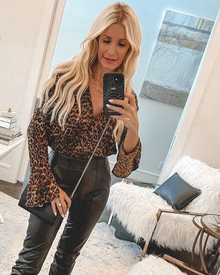NSALE leopard bodysuit under $100 and still in stock - I'm wearing an xs @liketoknow.it #liketkit http://liketk.it/3k4hx