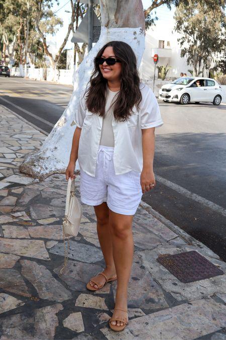 All white outfit  #LTKtravel #LTKSeasonal #LTKHoliday