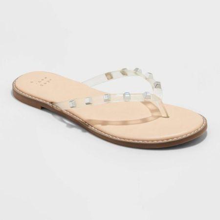 Cute target sandals   #LTKunder50 #LTKshoecrush