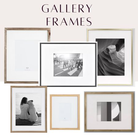 Here are some great frames for either a gallery wall or framing art pieces individually.   Amazon finds, target , pottery barn, gallery wall   #StayHomeWithLTK #LTKhome #LTKstyletip