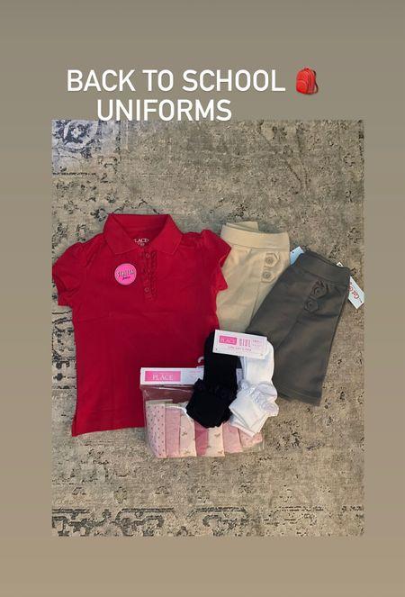 Back to school, kid's uniforms, Children's Place, Target kids  #LTKunder50 #LTKsalealert #LTKkids
