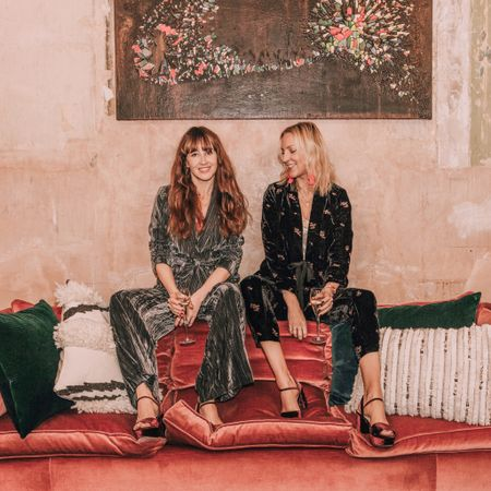 @liketoknow.it #liketkit http://liketk.it/2yHZR Christmas party festive outfit ideas in velvet chunky platform sandals and crushed & embroidered velvet suits. Shot for Monsoon's party campaign in London #holidayoutfitinspo #ltkholidays #ltkunder100