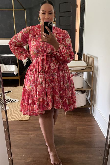 Loving these Anthropologie dresses! Wearing a size 1X   #LTKcurves