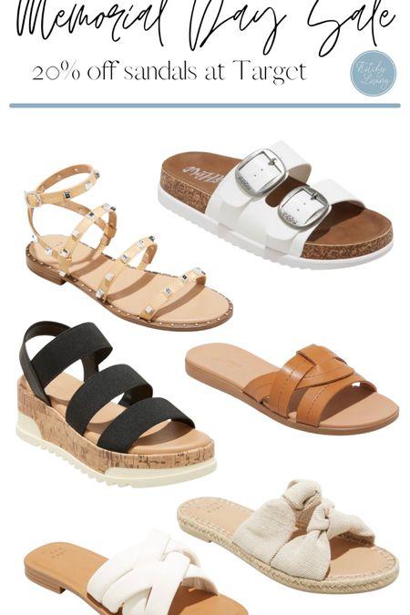 Target Sandals 20% off http://liketk.it/3gr56 #liketkit @liketoknow.it #MDW #salesalert #targetfinds #targetfashion