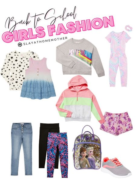 Girls Fashion - Back to School from Walmart   Walmart home, target home, cleaning, clean home, dream home, under 50, daily deals, 5 stars, amazon finds, amazon deals, daily deals, deal of the day, dotd, bohemian, farmhouse decor, farmhouse, living room, master bedroom, door room, loft, toddler girls, girls fashion, back to school   💕Follow for more daily deals, home decor, and style inspiration 💕  #LTKkids #LTKsalealert #LTKstyletip