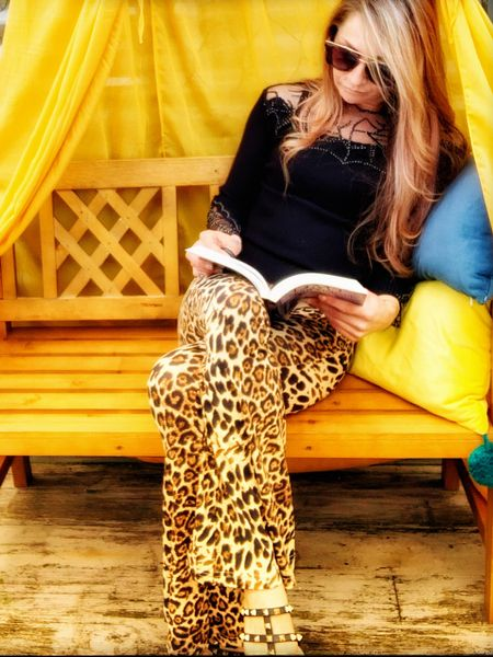 Leopard print flares    http://liketk.it/3hNEd #liketkit @liketoknow.it #LTKstyletip #LTKfit #LTKunder100 Follow me on the LIKEtoKNOW.it shopping app to get the product details for this look and others
