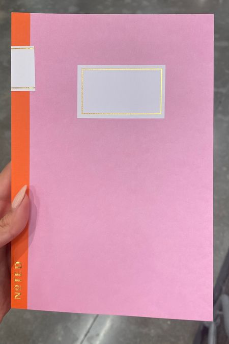 http://liketk.it/3juqQ #liketkit @liketoknow.it #LTKhome #LTKunder50 #LTKfamily the cutest pink and orange notebook for summer from target for back to school