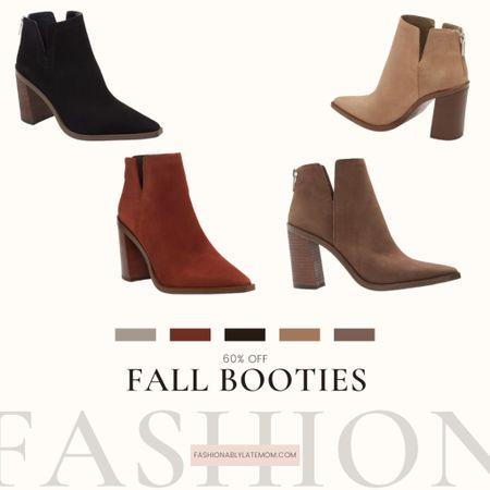 It's bootie season! Check out these fall booties that are now 60% off! #nordstrom #fallboots #fallstyle   #LTKunder100 #LTKsalealert #LTKstyletip