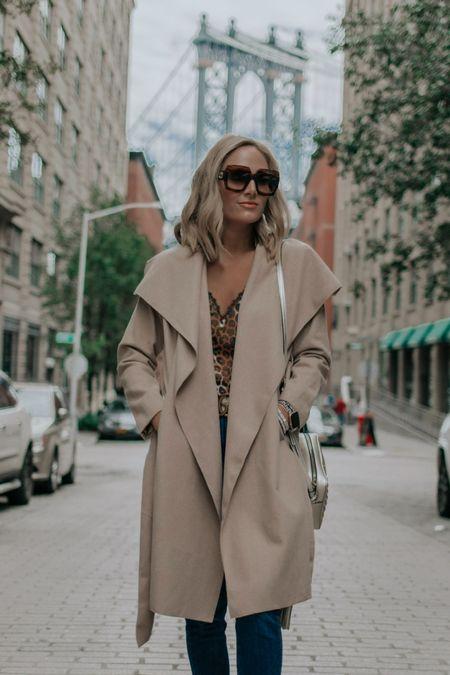 My soft camel coat under $60. Wearing small. Fall outfit   #LTKunder50 #LTKsalealert #LTKunder100