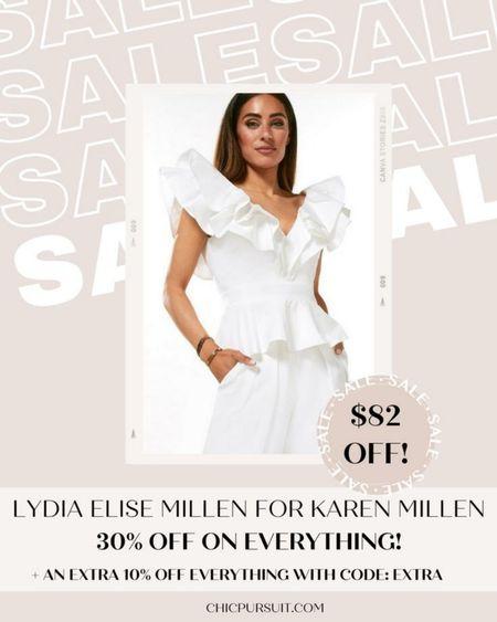 SALE ALERT! Lydia Elise Millen for Karen Millen is 30% off + 10% extra with code EXTRA in their Memorial Day Sale! These pieces are so beautiful!! #LTKsalealert #LTKSpringSale #LTKstyletip http://liketk.it/3giDc @liketoknow.it #liketkit