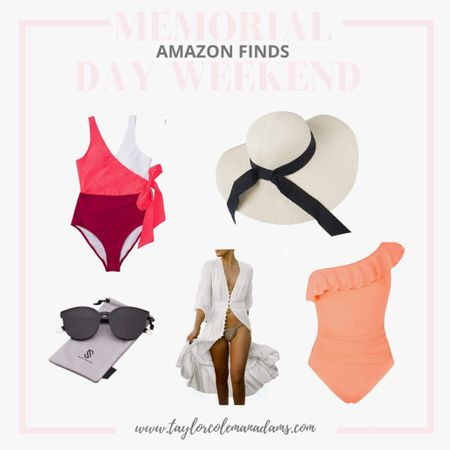 Amazon Memorial Day Weekend Finds - Swimsuits, Sun Hats, Sunglasses http://liketk.it/3g9kq #liketkit @liketoknow.it #LTKunder100 #LTKunder50 #LTKtravel