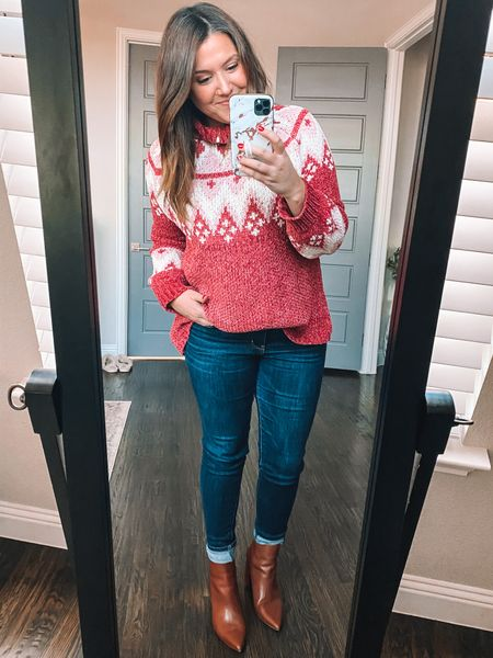 This sweater from Pink Lily sadly is sold out but I linked some similar ones for y'all! #liketkit http://liketk.it/348wQ @liketoknow.it #LTKsalealert #LTKstyletip #LTKunder50 Shop your screenshot of this pic with the LIKEtoKNOW.it shopping app