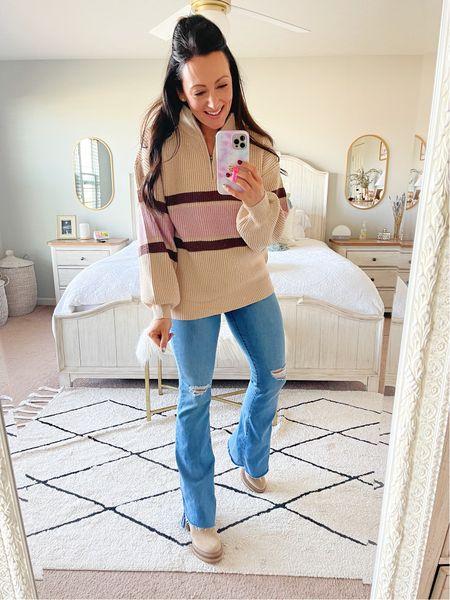 Size medium sweater - true to size