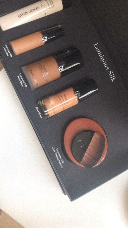 Armani beauty Favs! Looking to mail that glow from within look definitely checkout the fluid sheer linked below! Also love the skin but better finish The luminous silk foundation gives #blackgirl   #LTKsalealert #LTKDay #LTKbeauty
