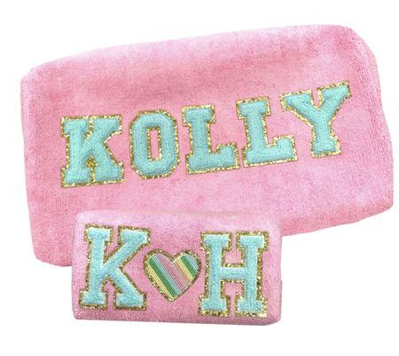 customizable Terry cloth XX   #LTKsalealert #LTKunder50 #LTKSeasonal