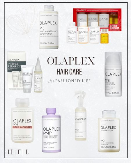 Olaplex, hair treatments, mask, purple shampoo,   #LTKGiftGuide #LTKbeauty #LTKunder50