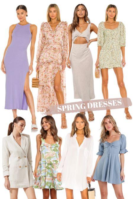 A little dress roundup for your spring shopping! http://liketk.it/3aEp2 #liketkit @liketoknow.it #LTKstyletip #LTKunder100 #LTKwedding
