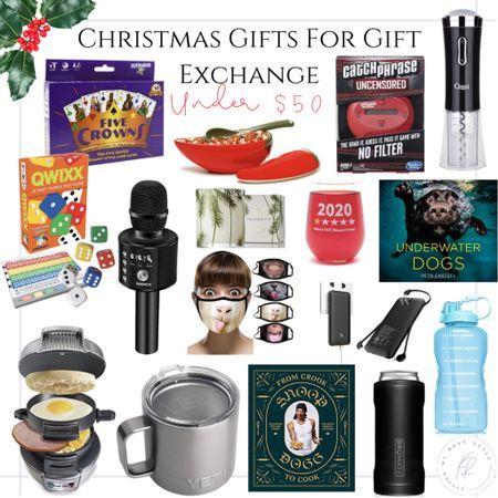 Gift guide for gift exchange! ✨🎄 http://liketk.it/31l1x #liketkit @liketoknow.it  #giftguide #giftexchange #whiteelephant #giftsunder50
