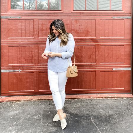 Rolling up my sleeves and crossing things off my to do list today!    #LTKstyletip #LTKshoecrush #LTKunder100 http://liketk.it/3dplb #liketkit @liketoknow.it