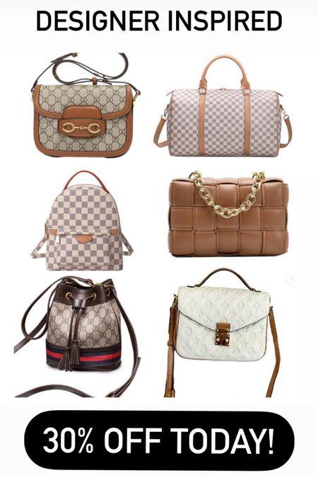 Designer inspired bags over 30% off! http://liketk.it/3gITM #liketkit @liketoknow.it #LTKitbag #LTKstyletip #LTKunder50