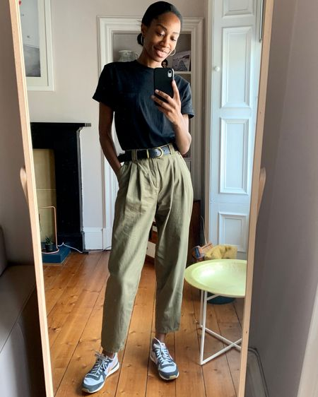 These trousers have to be the best I have. They're so good I bought them in 2 other colours👌🏾 http://liketk.it/2Vmrc #LTKunder100 #LTKstyletip #liketkit @liketoknow.it.europe @liketoknow.it You can instantly shop my looks by following me on the LIKEtoKNOW.it shopping app