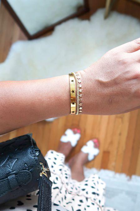 These star bracelets are my everyday favorite + both under $15! Ship prime too 🌟✨💫  #liketkit #LTKsalealert #LTKunder50 #LTKstyletip #bracelets #armcandy #ltkunder20 #amazon #founditonamazon #amazonfashion #amazonfinds http://liketk.it/2RFQa @liketoknow.it