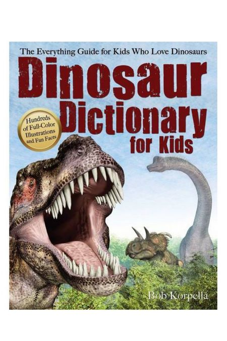 If your kids love dinosaurs you can't go wrong with this book! It is the ultimate dinosaur lovers guide! My 4 year old is so knowledgeable because of this book and seriously wows everyone. He won't put it down! #kidsbooks #books #dinosaurs   #LTKfamily #LTKbacktoschool #LTKkids