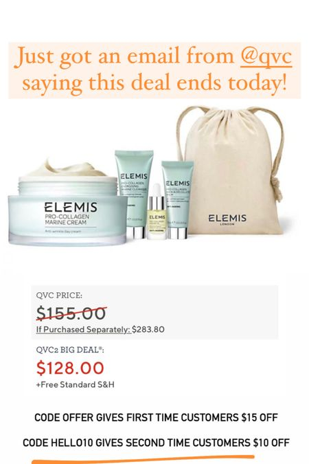 This Elemis deal ends today!! #liketkit http://liketk.it/3ibSj @liketoknow.it #LTKsalealert #LTKbeauty