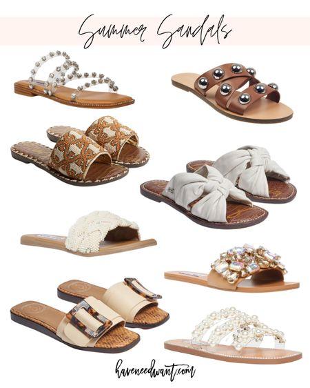 New summer sandals!   #LTKshoecrush #LTKstyletip #LTKSeasonal