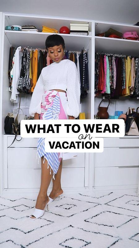 What to wear on vacation   #LTKSeasonal #LTKstyletip #LTKunder100