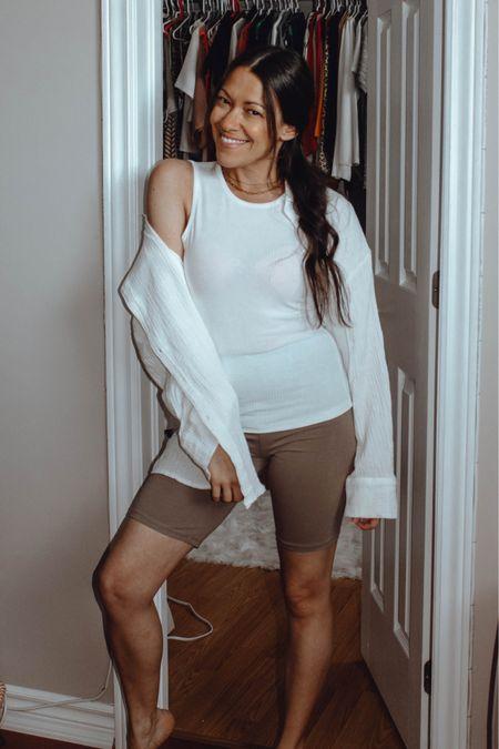 Summer outfit basics. Wardrobe basics from H&M. Under $50.   xo lovely    #LTKunder50 #LTKstyletip