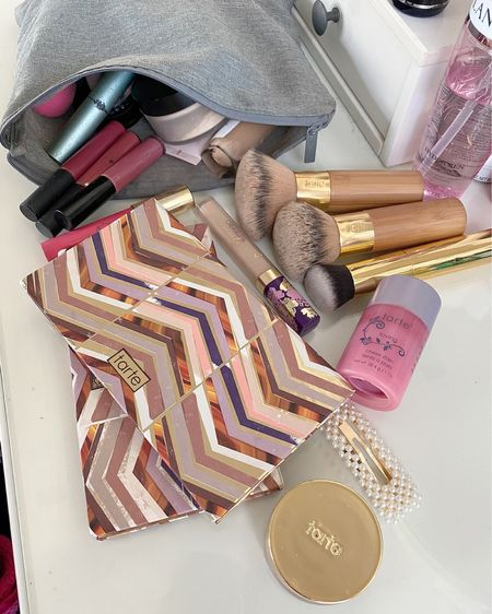 Yay Tarte Makeup Favs for LTK DAY! 20% off + free shipping!!! LOVE all the eye cheek palettes, Lip Paints (Bling &Delish) the kabuki brushes, timeless primer, and of course the shape tape concealer 💗  http://liketk.it/2SCYU #liketkit @liketoknow.it #LTKbeauty