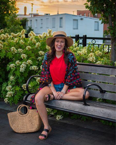 A favorite kimono for summer/beach ❤️🌺 @liketoknow.it http://liketk.it/3jhNX #liketkit #LTKunder50 #LTKunder100 #LTKtravel
