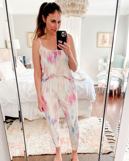 I was waiting for this set to arrive and it was worth the short wait! So soft, love the tie dye + it comes in more colors. Shop your screenshot of this pic with the LIKEtoKNOW.it shopping app http://liketk.it/3bDDu #liketkit @liketoknow.it #LTKunder50