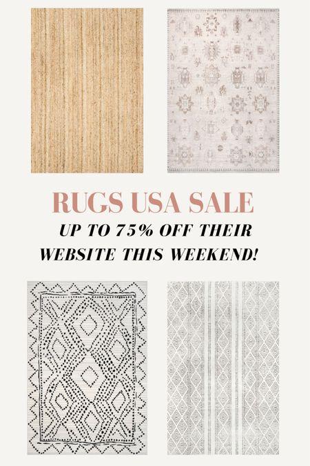 Rugs USA Memorial Day sale up to 75% off rugs! http://liketk.it/3gpOd #liketkit @liketoknow.it #LTKhome #LTKsalealert @liketoknow.it.home Shop my daily looks by following me on the LIKEtoKNOW.it shopping app