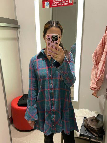 Plaid dress target   #LTKunder100 #LTKunder50 #LTKSeasonal
