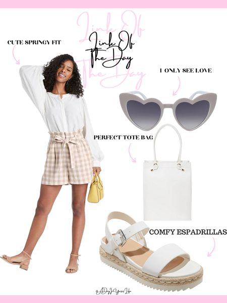 With spring right around the corner, here's today's •LINK OF THE DAY• 🤍 I personally love a cute all-white OOTD 🎯✨ : http://liketk.it/39IIv #liketkit @liketoknow.it #LTKstyletip #LTKunder50 #LTKunder100