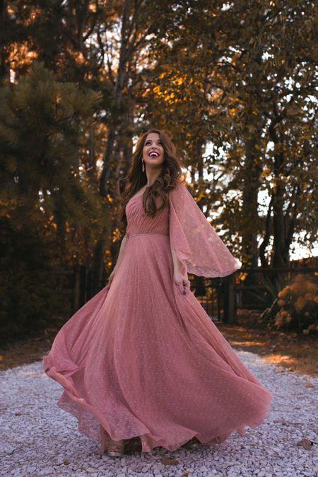 fall wedding guest dress  #LTKwedding