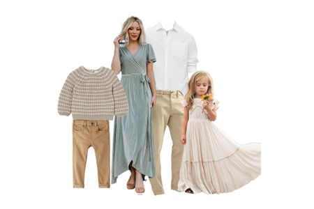 What to Wear | Spring Family Pictures  #LTKkids #LTKSeasonal #LTKfamily