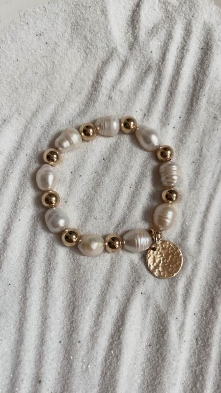 Stylin by Aylin Collection, 14k gold filled jewelry, beaded bracelets, fresh water pearls, use code STYLIN10 at checkout for 10% off, StylinbyAylin   #LTKstyletip #LTKGiftGuide