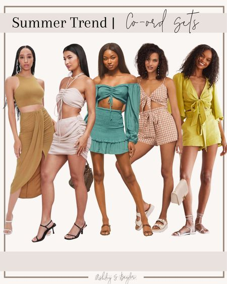 http://liketk.it/3h8VH #liketkit @liketoknow.it #LTKstyletip #LTKsalealert #LTKtravel summer sets, matching sets, beach outfit