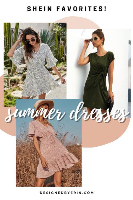 Great summer dresses from #shein Shop the look! #dresses #summer  #LTKstyletip #LTKunder50 #LTKworkwear