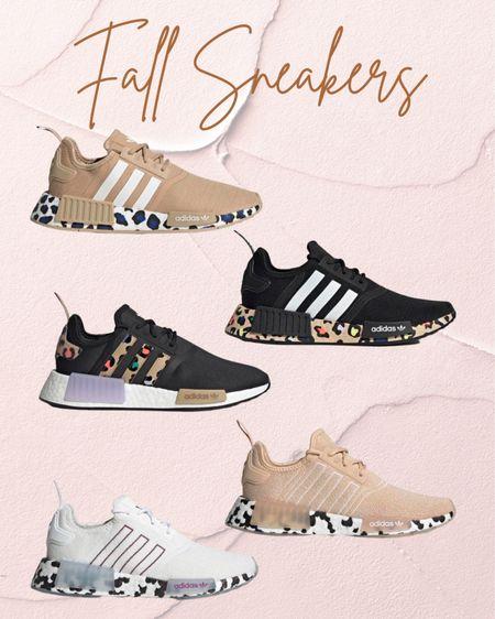 NEW fall sneakers Adidas NMD R1 Black sneakers Running shoes Activewear Leopard Nude blush   #LTKtravel #LTKSeasonal #LTKshoecrush