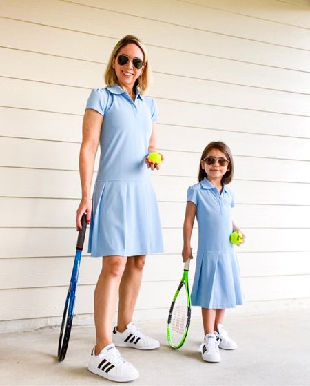 Wearing girls size XL in this dress so I can match my mini.   If you're petite like I am, try shopping the larger sizes in the girls section for more mommy-and-me matching outfit ideas.         Dresses , target style , mommy and me , matching outfits , #ltkstyletip #ltkfit #ltkfamily amazon fashion , amazon finds , sunglasses , sneakers , women's sneakers   #LTKunder50 #LTKkids #LTKshoecrush