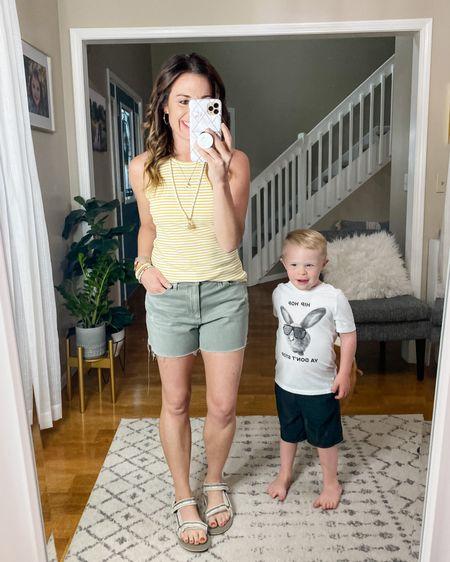 Casual mom outfit, Target finds, Old Navy Finds, mom style, kids style, Tevas.    http://liketk.it/3hvzC #liketkit @liketoknow.it #LTKunder50 #LTKfamily #LTKshoecrush