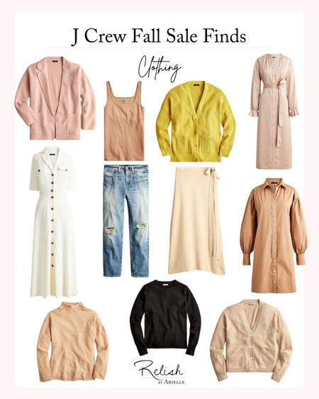 J Crew Fall Sale Finds - 40% off with code HELLOFALL + extra 60% off Sale  Fall fashion, fall outfit ideas, fall outfit Inspo   #LTKSeasonal #LTKstyletip #LTKsalealert