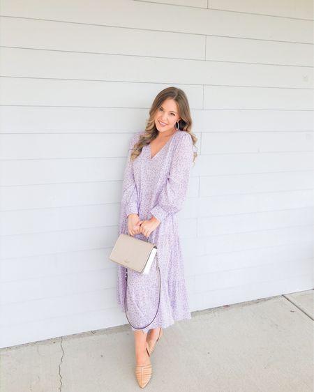 Pretty in Purple http://liketk.it/3dOV9 #liketkit @liketoknow.it #LTKunder50 spring dresses, floral dress