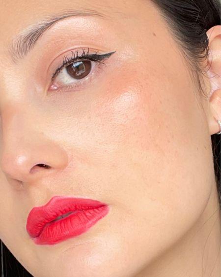 Cat eyes and rose bud lips GRWM #LTKbeauty #liketkit @liketoknow.it http://liketk.it/3fLL2