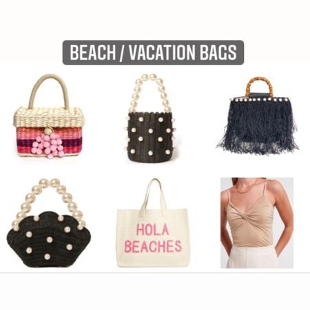 Hola Beaches! Found some stylish adorable beach/ vacation bags for you. Straw bags. Fashion beach bags. http://liketk.it/3iH3g #liketkit @liketoknow.it #LTKitbag #LTKtravel #LTKswim #LTKsummer #LTKseasonal #vacation #holiday #4thofjuly Shop my daily finds by following me on the LIKEtoKNOW.it shopping app